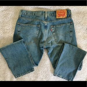 502 Levi's. Red tag